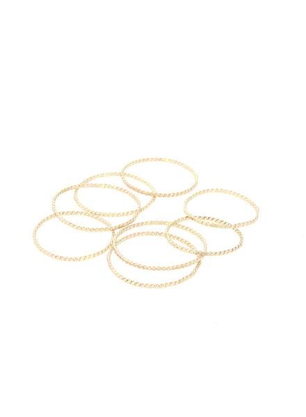 lotus jewelry studio rope stacking ring