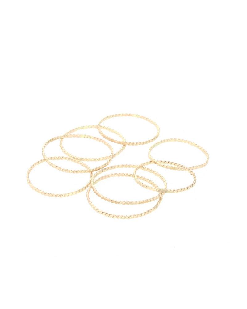 lotus jewelry studio lotus rope stacking ring