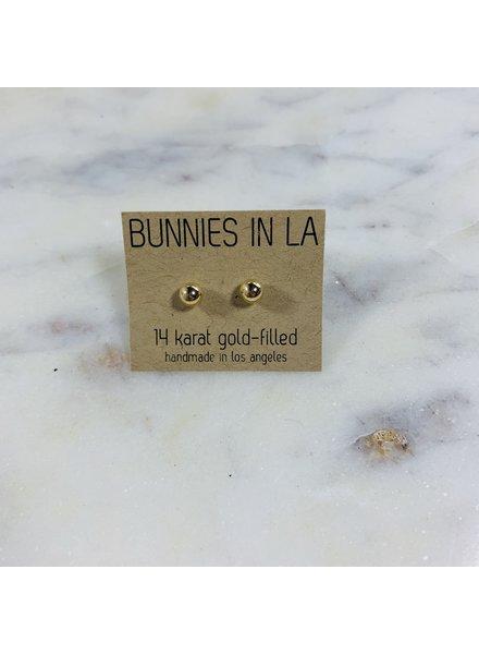 bunnies in la 4mm stud