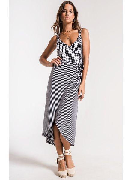 z supply capri wrap dress