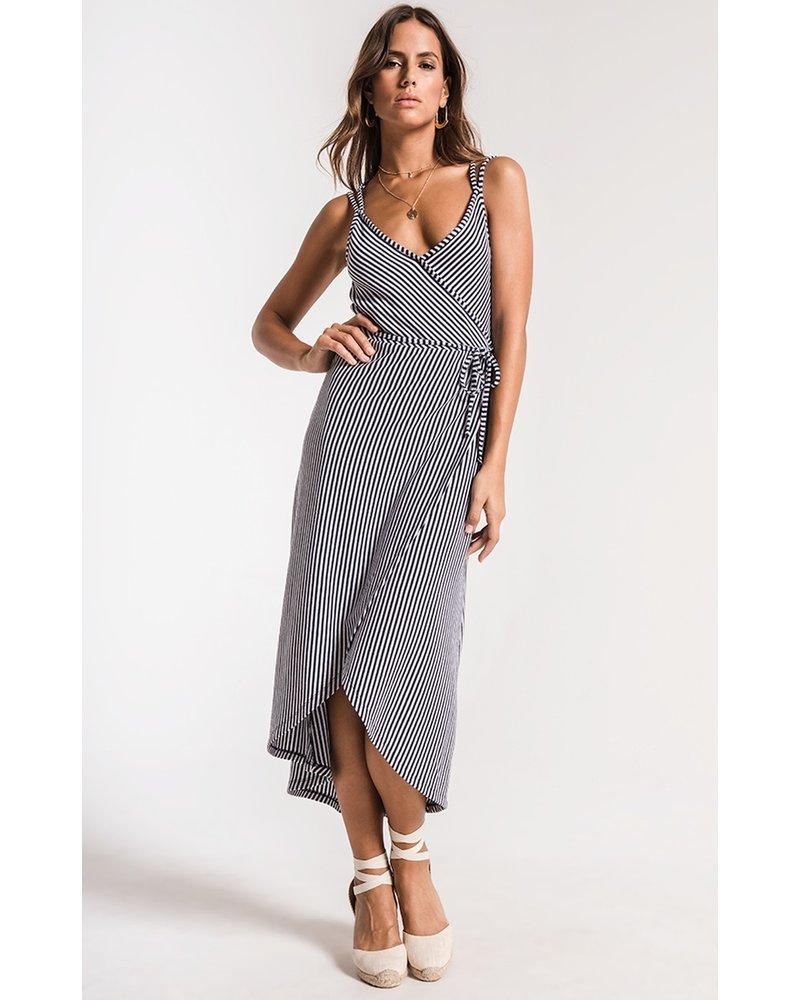 z supply z supply capri wrap dress