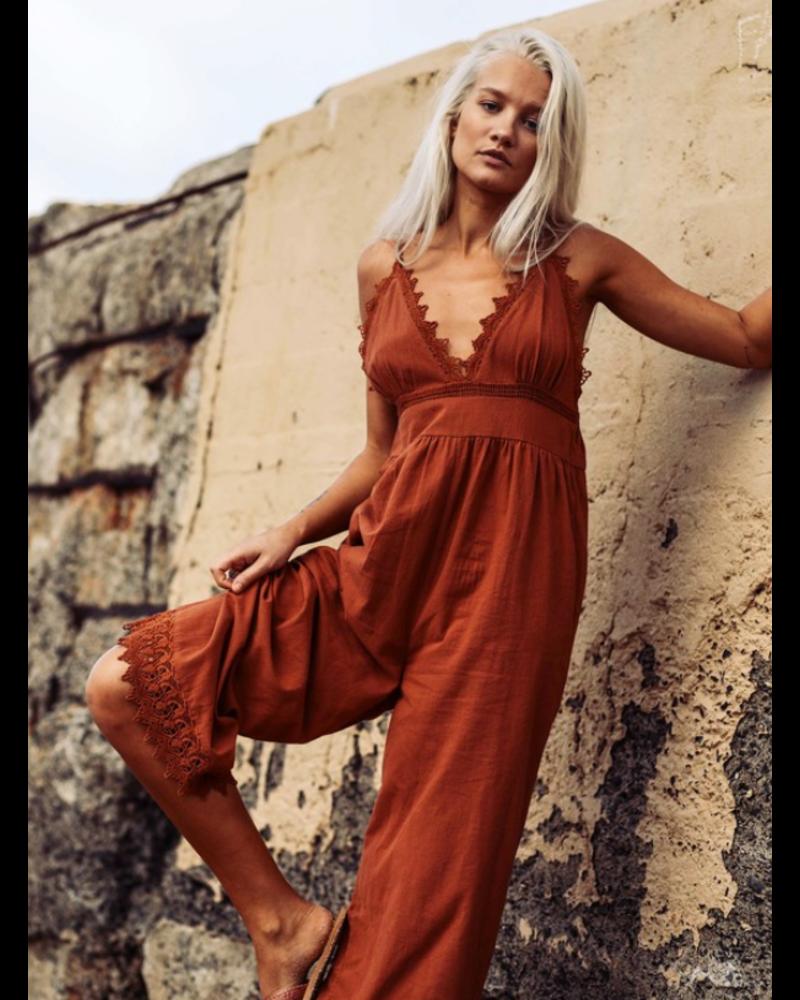 af92e7b5d806 billabong lace and lies jumpsuit - mimi   red inc