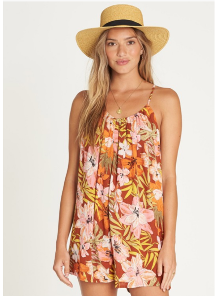billabong del sur mini romper