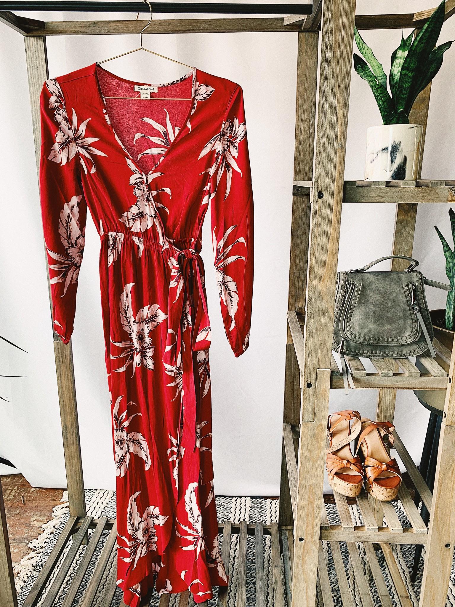 edc6c3a1a billabong kauai dress - mimi & red inc