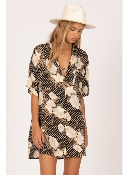 amuse society island oasis dress