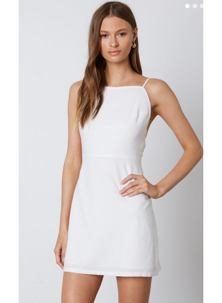 cotton candy coastal dress
