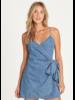billabong billabong island wrap dress