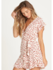 billabong billabong wrap and roll dress