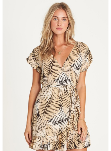 billabong wrap and roll dress