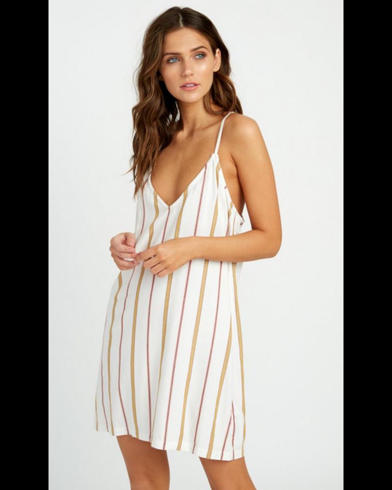 rvca rvca fluke stripe dress