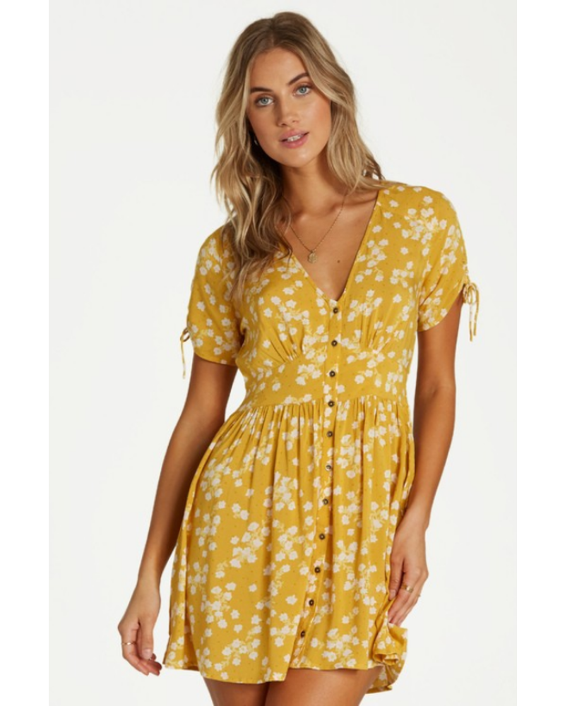 billabong billabong twirl twist dress