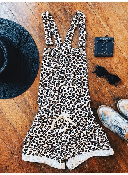z supply leopard short overall