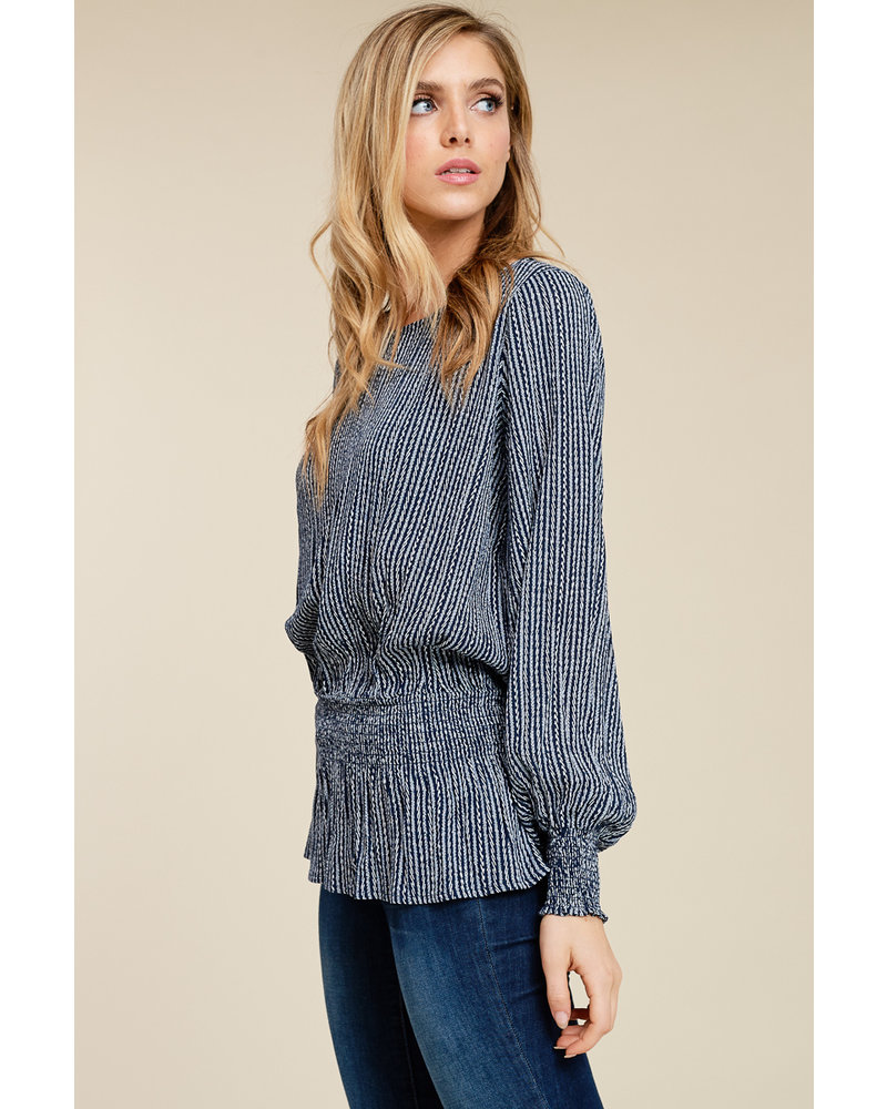staccato jackie top