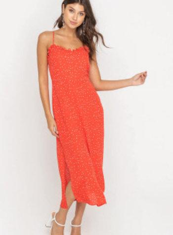lush dobby dress
