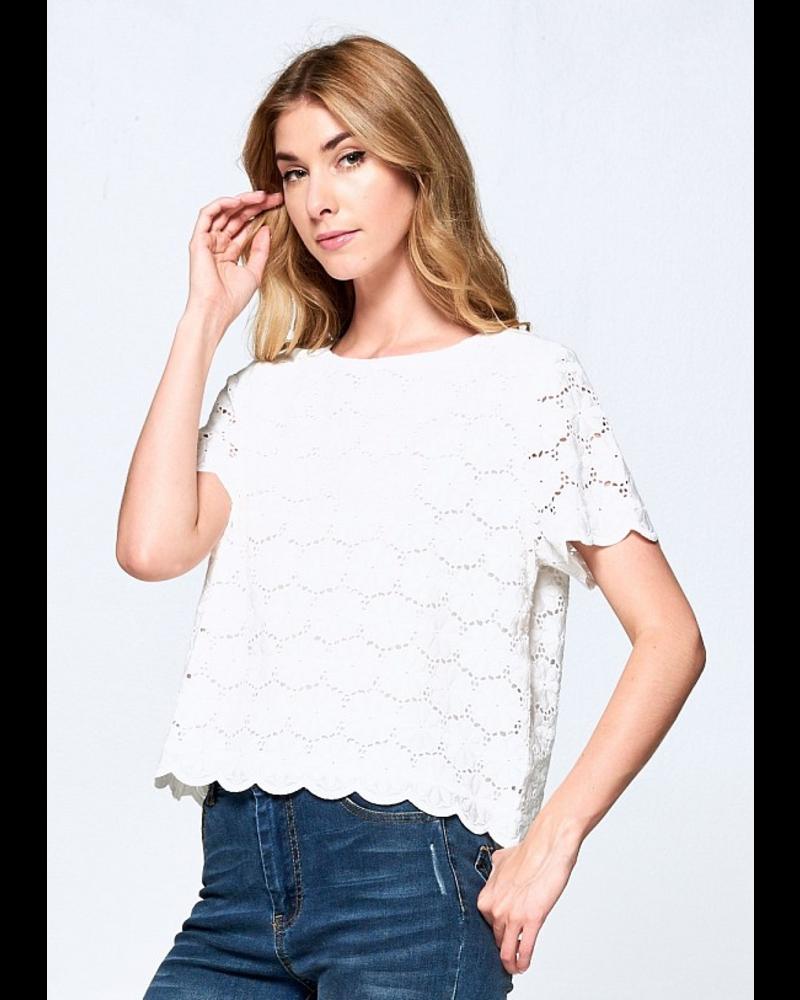 ellison ellison moana blouse