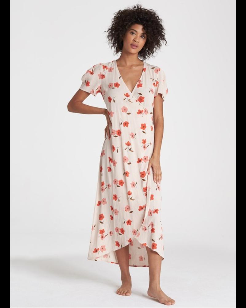 billabong billabong floral fields dress