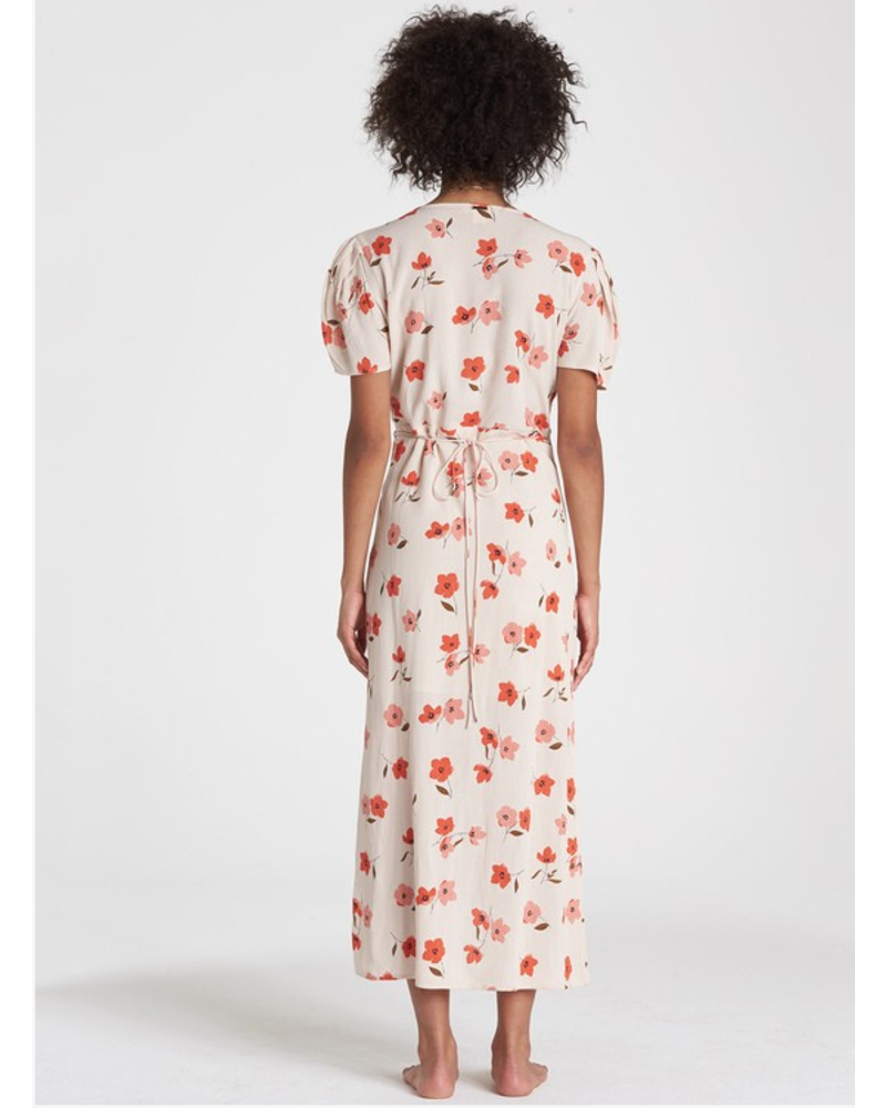 billabong billabong floral fields dress