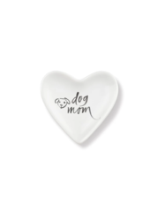 fringe studio brush dog mom heart tray