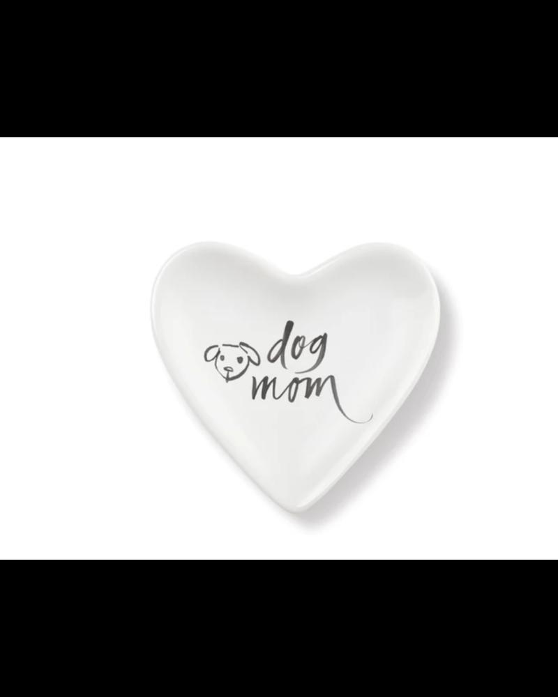 fringe studio fringe brush dog mom heart tray