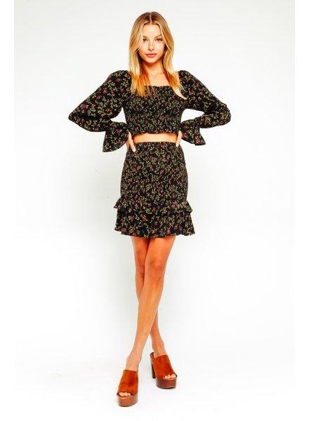 olivaceous toni skirt