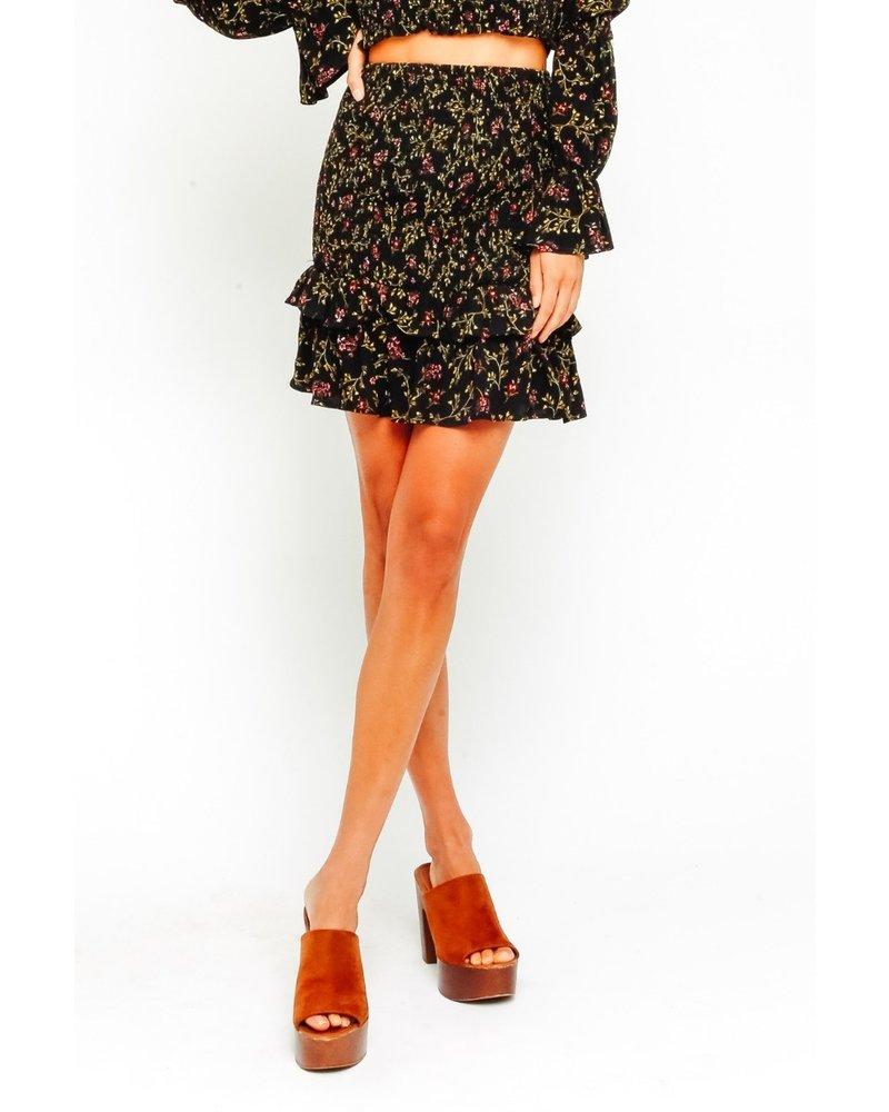 olivaceous olivaceous toni skirt