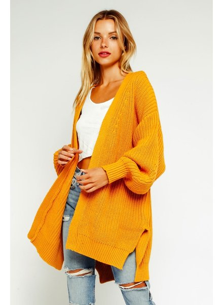 olivaceous meredith cardigan