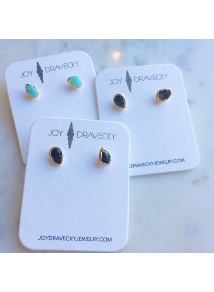joy dravecky stud earrings