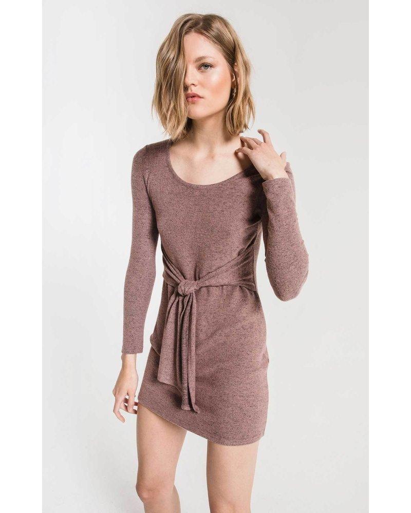 z supply z supply marled wrap dress