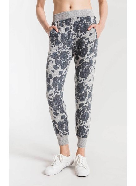 z supply marled floral pant