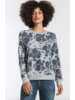 z supply z supply marled floral pullover