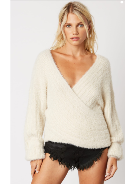 cotton candy chester sweater