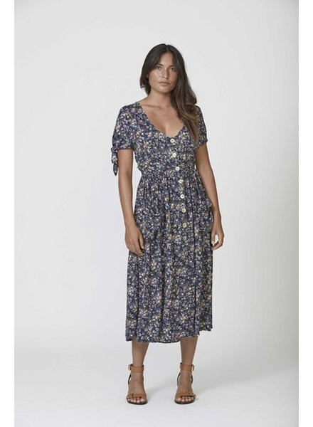 lola meadow midi dress