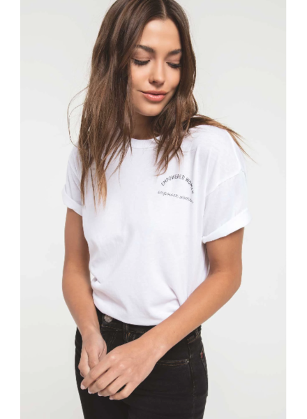 z supply empowered woman tee
