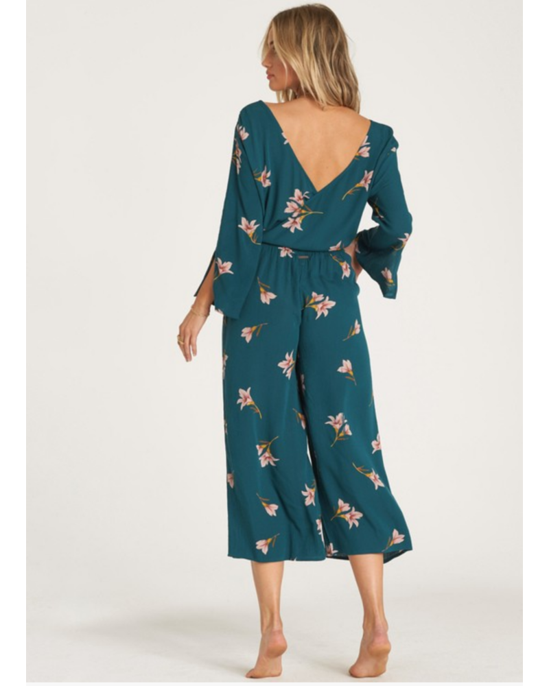 billabong billabong twist back jumpsuit