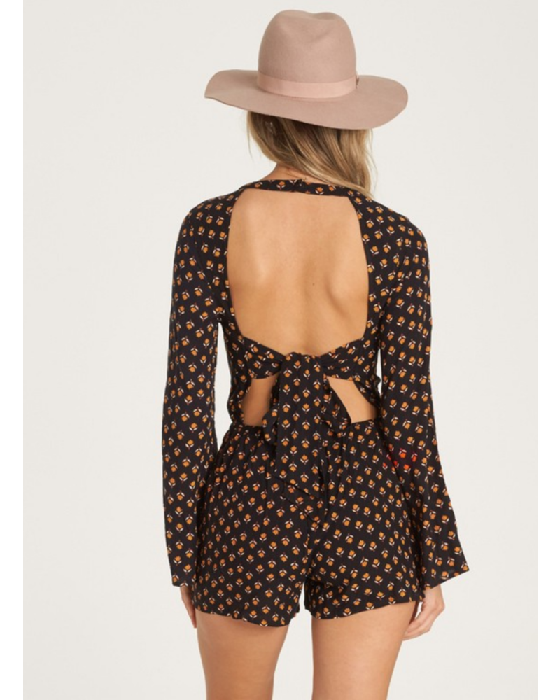 billabong billabong open hearts romper