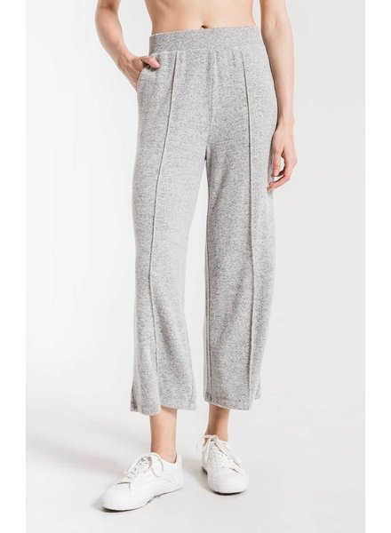 z supply marled wide leg pant