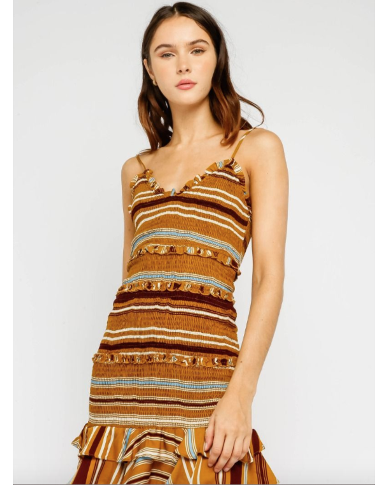 olivaceous olivaceous swift dress