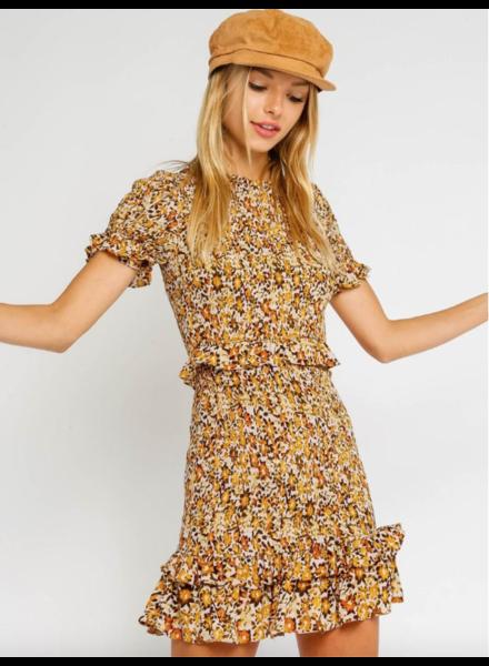 olivaceous bruno dress