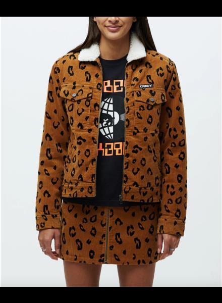 obey abbott sherpa jacket