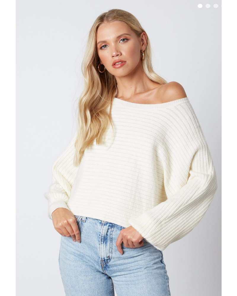 cotton candy cotton candy octavia sweater