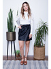free people free people payton paperbag mini skirt