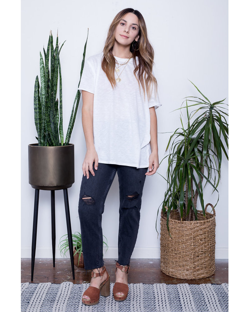 free people free people clarity ringer tee