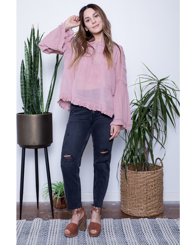 free people free people olivia blouse
