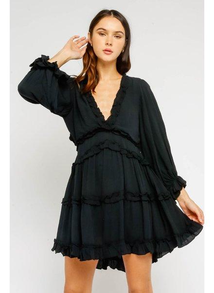 olivaceous aleeda dress
