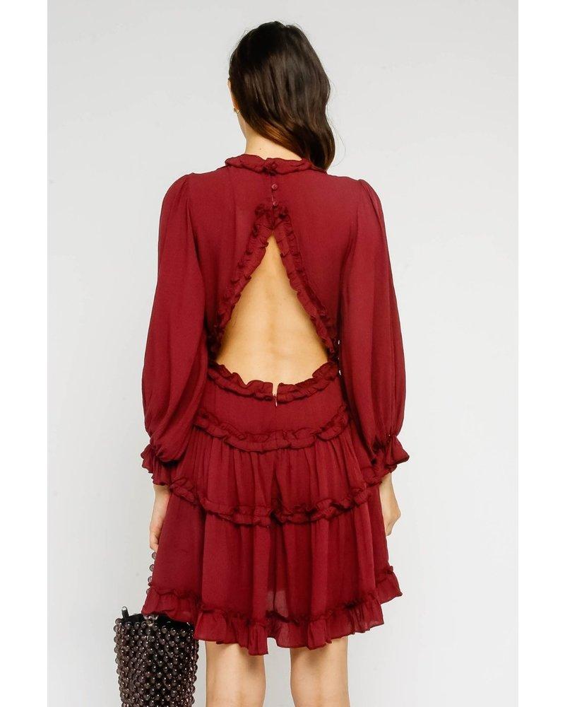 olivaceous olivaceous aleeda dress