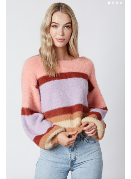 cotton candy mitchell sweater