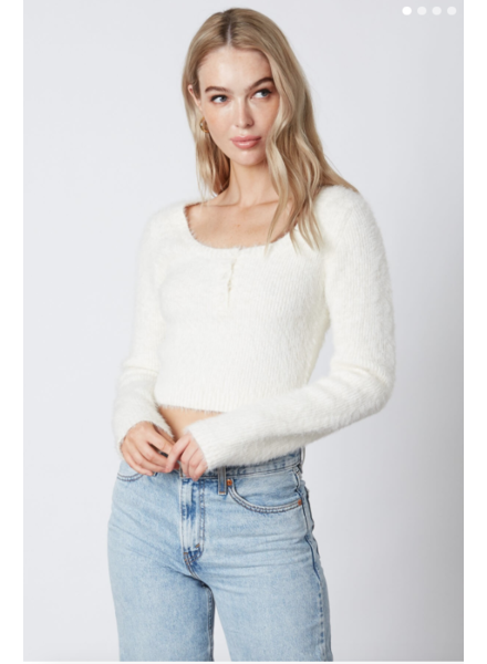 cotton candy natalie sweater
