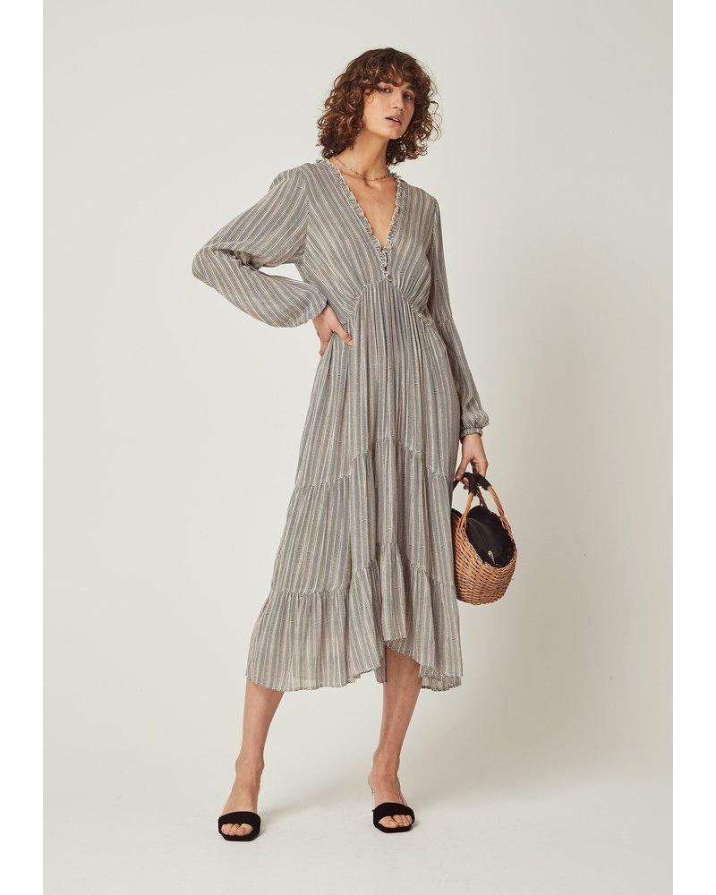 auguste maze dunes midi dress