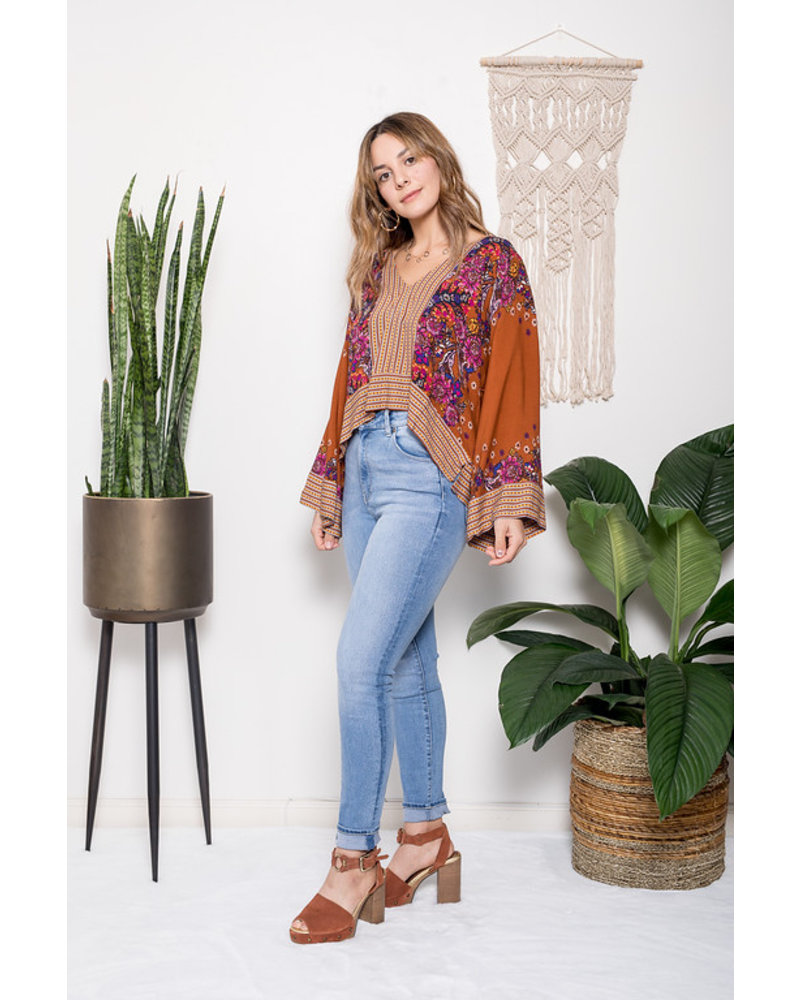 free people free people mix n match blouse