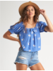 billabong billabong perfectly puff top